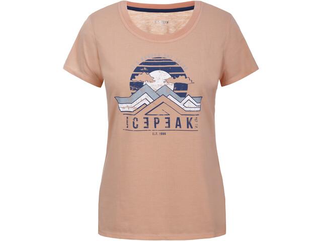 Icepeak Brooker T-Shirt Women, naranja